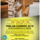 Flyer fablab summer 2019