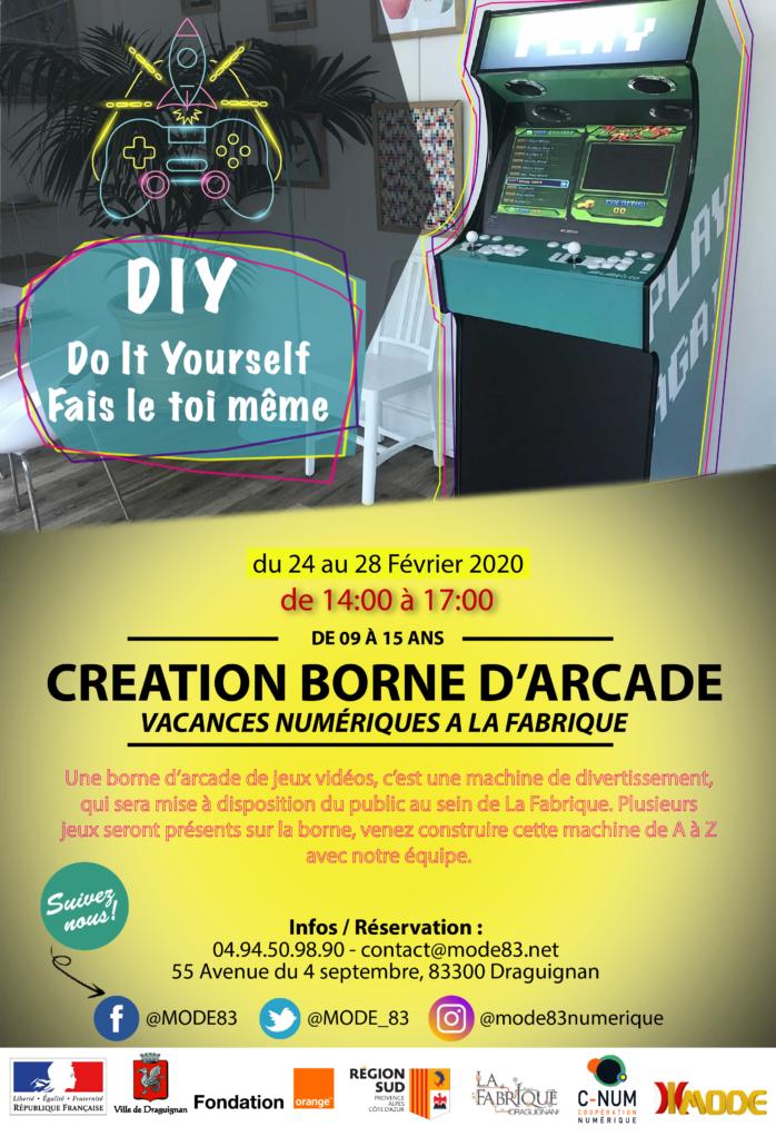 Vacances Numériques MODE83 Draguignan février 2020