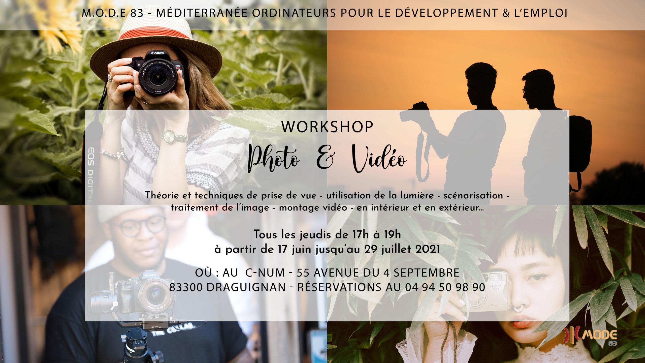 Atelier Photo-Vidéo