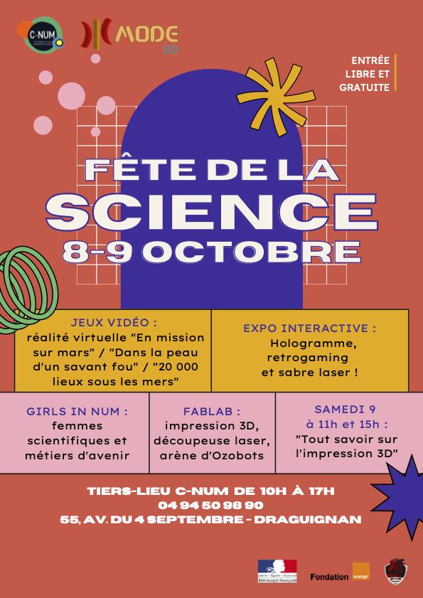 fête de la science 2021 - MODE 83